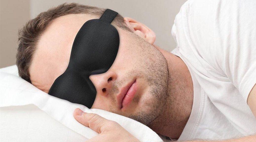 Schlafmaske für einen besseren Schlaf