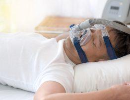 BiPAP oder CPAP Maske
