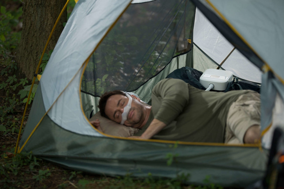 CPAP Camping