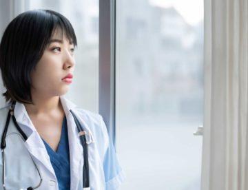 krankenschwester muede schichtbeginn